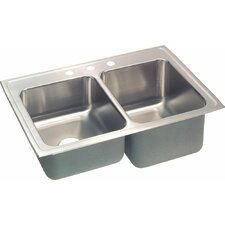 "Gourmet 33"" x 22"" Kitchen Sink"