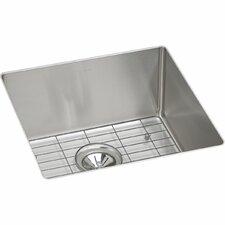 Crosstown Single Bowl Undermount Kitchen Sink Kit