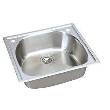 "Harmony 25"" x 22"" Top Mount Kitchen Sink"