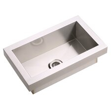 "Asana 20"" x 12"" Top Mount Kitchen Sink"