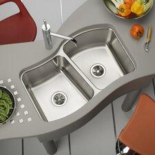 """Mystic 33.13"""" x 20.5"""" Undermount Kitchen Sink"""