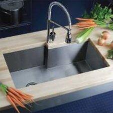"""Avado 34.5"""" x 20.5"""" Single Bowl Kitchen Sink"""