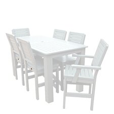 Weatherly 7 Piece Bar Height Dining Set