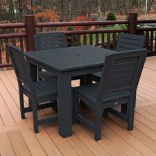 Weatherly 5 Piece Dining Set