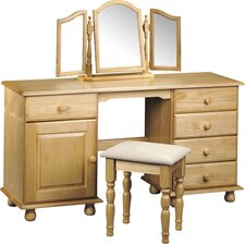 Woodward Twin Pedestal Dressing Table