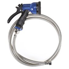 6-in-1 Stainless Steel Spray Hose