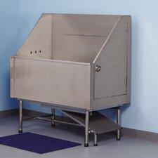 "Superior 48"" Left Plumb Stainless Steel Evolve Tub"