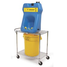 GravityFlo Portable Emergency Eye Wash Cart