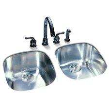 """16"""" x 14.75"""" Undermount Kitchen Sink"""