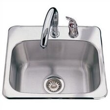 "19"" x 17"" 2 Hole Bar Sink"