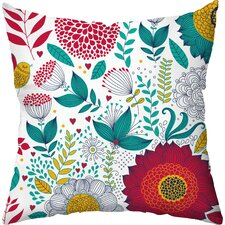 Wildflowers Indoor/Outdoor Throw Pillow