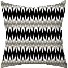Aztec Ikat Indoor/Outdoor Throw Pillow