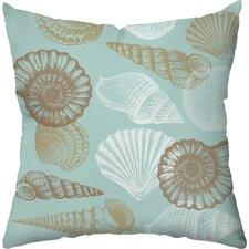 Shell Outdoor Throw Pillow