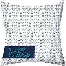 Waves Outdoor Throw Pillow