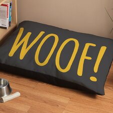 """Woof!"" Dog Bed"