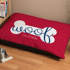 Personalized Dog Treat Dog Bed