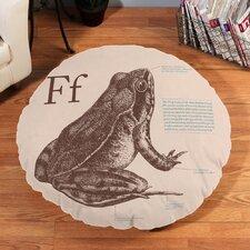 Frog Floor Pillow