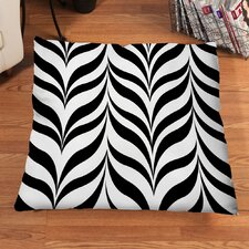 Marbleized Zebra Floor Pillow