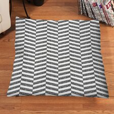 Sketch Herringbone Floor Pillow