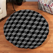 Sketch Cubes Floor Pillow