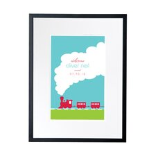 Personalized I Think I Can! Framed Art