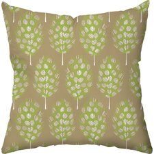 Guinea Feathers Throw Pillow