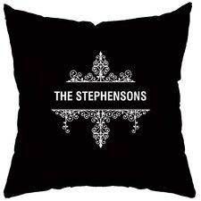 Personalized Créme de la Créme Throw Pillow