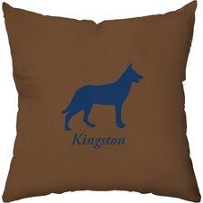 Personalized German Shepherd Throw Pillow