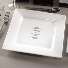 """Personalized Balance 11.63"""" Dinner Plate"""