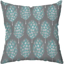 Guinea Feathers Outdoor Throw Pillow