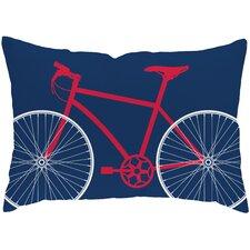 Bicycle Outdoor Lumbar Pillow