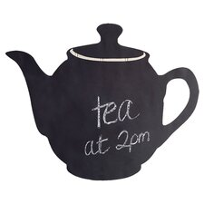 Teapot Chalkboard Wall Decal