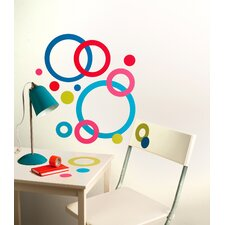 Peel and Stick Concentric Circles Wall Decal