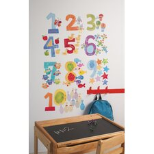 Peel and Stick Counting Numbers Wall Decal