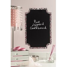 Peel and Stick Leopard Chalkboard Wall Decal