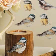 Chickadees Wall Decal