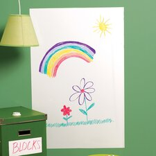 Big Dry Erase Vinyl Peel and Stick Whiteboard Wall Decal