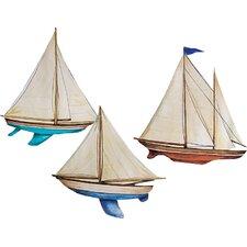 Sailboats Wall Decal (Set of 4)