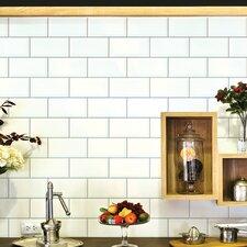 Subway Tiles Wall Mural (Set of 2)