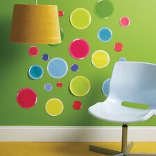 3-D Dots Wall Decal