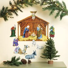 Nativity Holiday Wall Decal (Set of 2)
