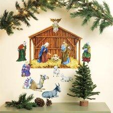 Nativity Holiday Wall Decal (Set of 2)