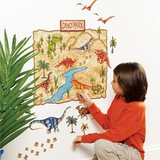 Dino Park Interactive Wall Decal