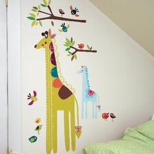 Wall Play Giraffe Interactive Growth Chart