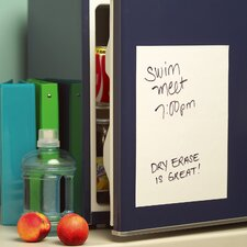 Dry Erase Vinyl Whiteboard Wall Decal (Set of 2)