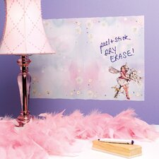 Flower Fairies Dry Erase Vinyl Chalkboard Wall Decal (Set of 2)