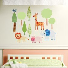 Zoo Baby Wall Decal