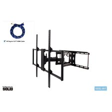 """Large Low-Profile Full Motion Articulating Universal Wall Mount for 37"""" - 65"""" LED / LCD / Plasma"""