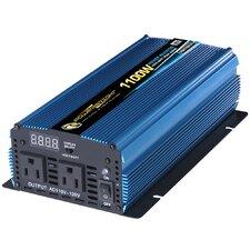 12V DC to 110V AC 1100W Power Inverter