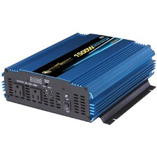 12V DC to 110V AC 1500W Power Inverter